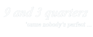 9 and 3 quarters logo